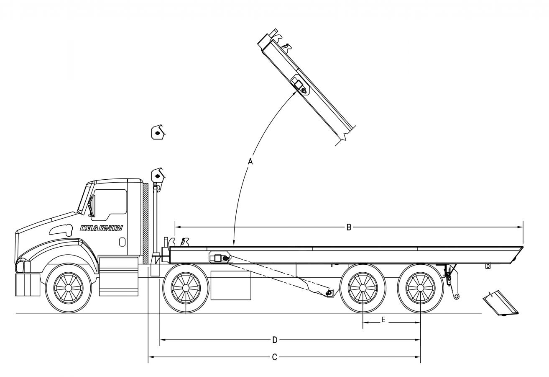 DRC-TS serie 60000 lb - sans rouleaux