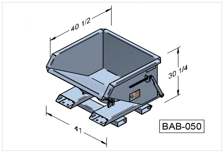 BAB-050 - Benne autobasculante