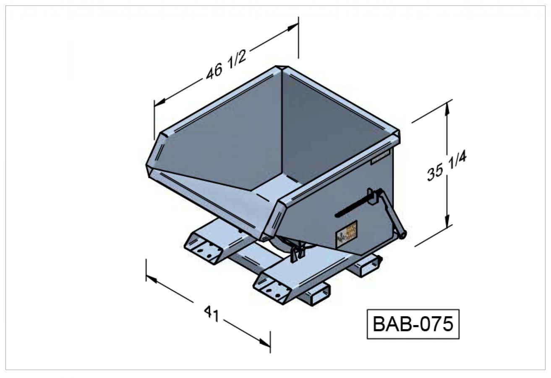 BAB-075 - Benne autobasculante