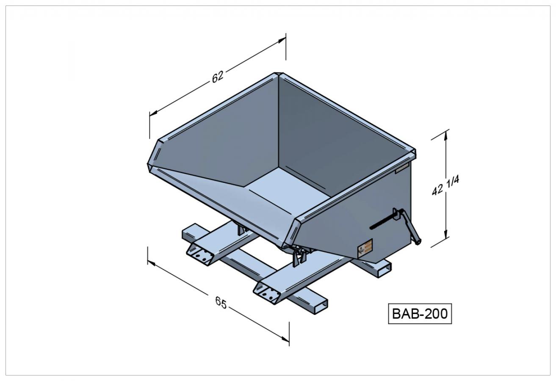 BAB-200 - Benne autobasculante
