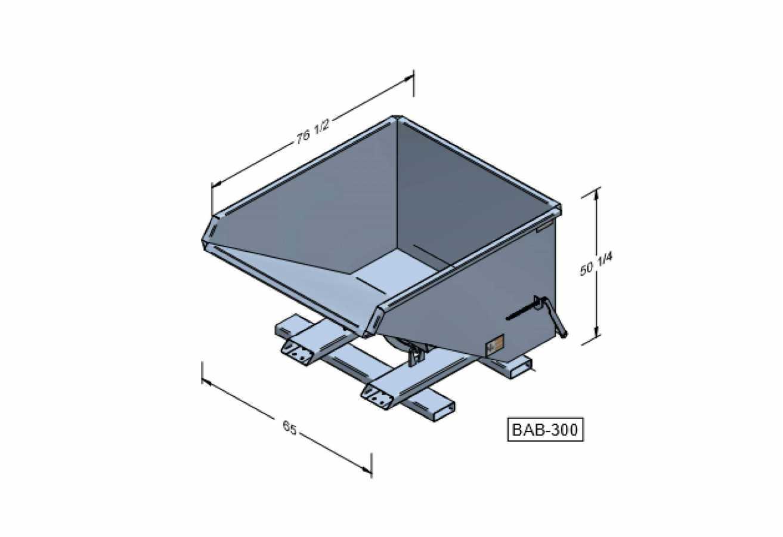 BAB-300 - Benne autobasculante