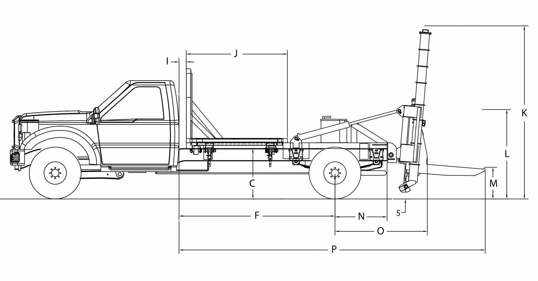 DCC-8000 Transporteur de contenant
