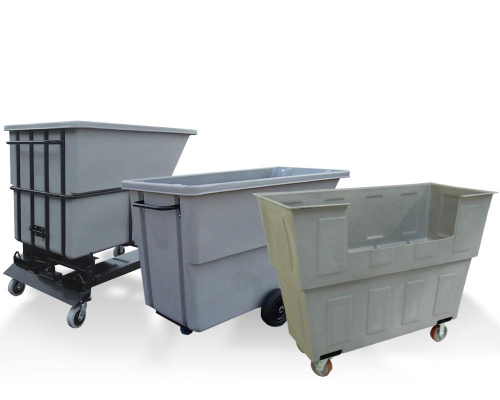 Polyethylene carts