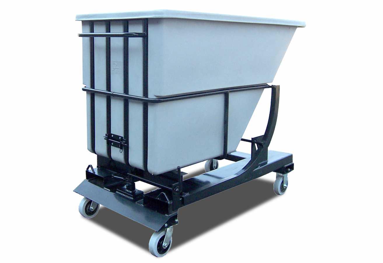Extra heavy duty self-dumping carts