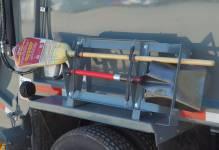 Shovel and/or broom racks