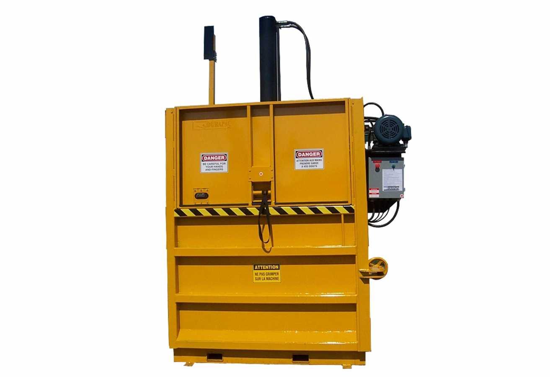 Presse verticale à carton PVB-1000 - à essence