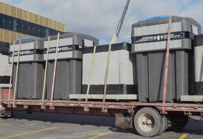 Contenant semi-enfoui - plastique - 6200 litres
