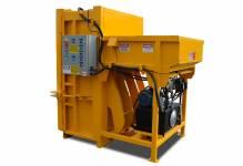 PVB-600-RFL rear load vertical cardboard baler